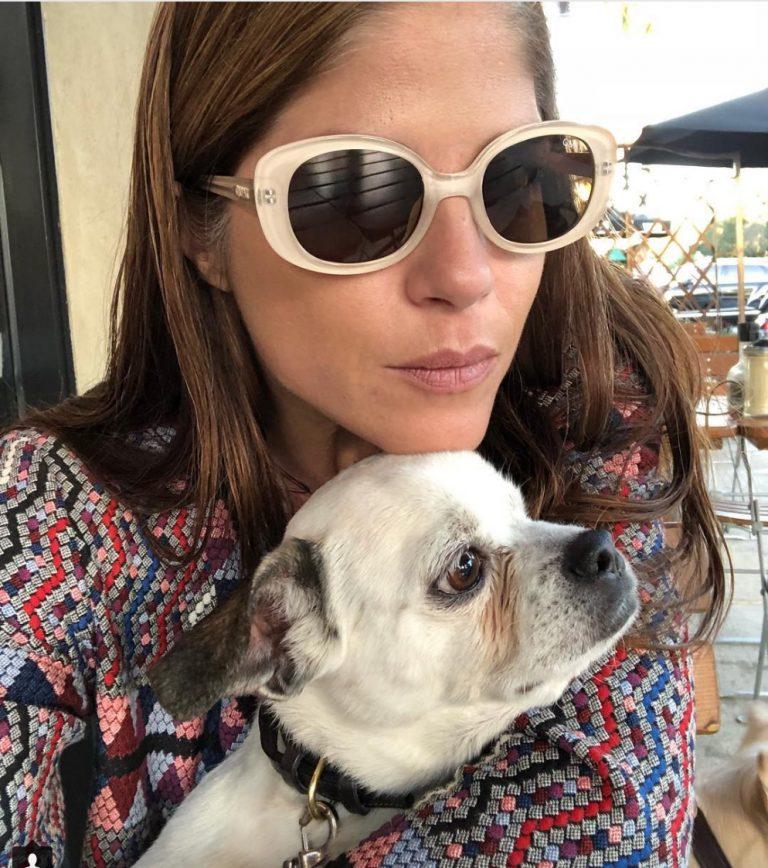 Selma Blair celebrities who look like their pets