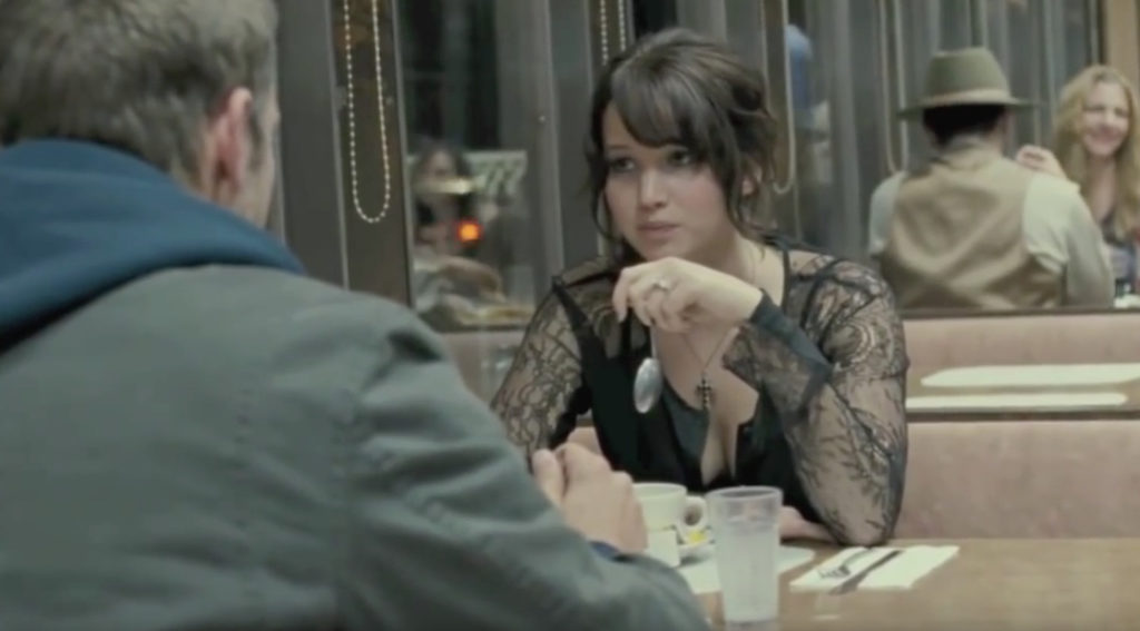 Silver Linings Playbook Diner Scene Jokes in Non-Comedy Movies