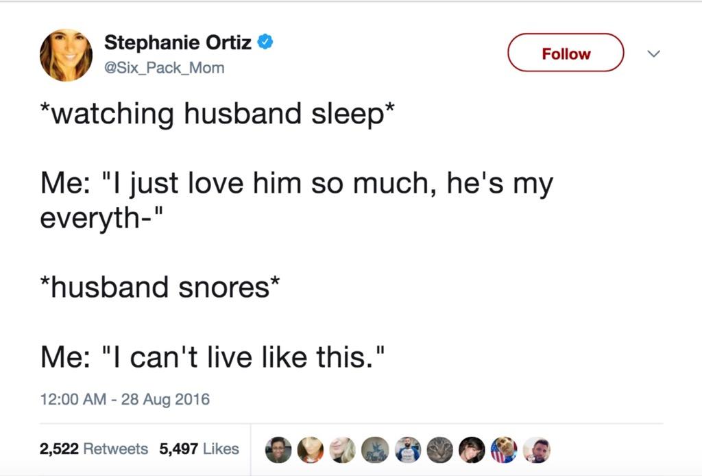 Stephanie Ortiz funniest celebrity marriage tweets
