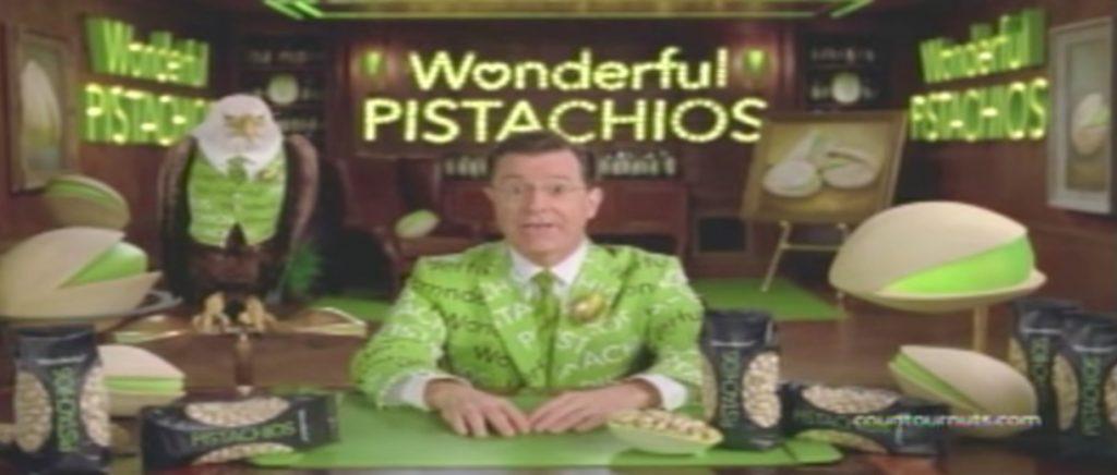 Stephen Colbert Pistachios Celebrity Commercials