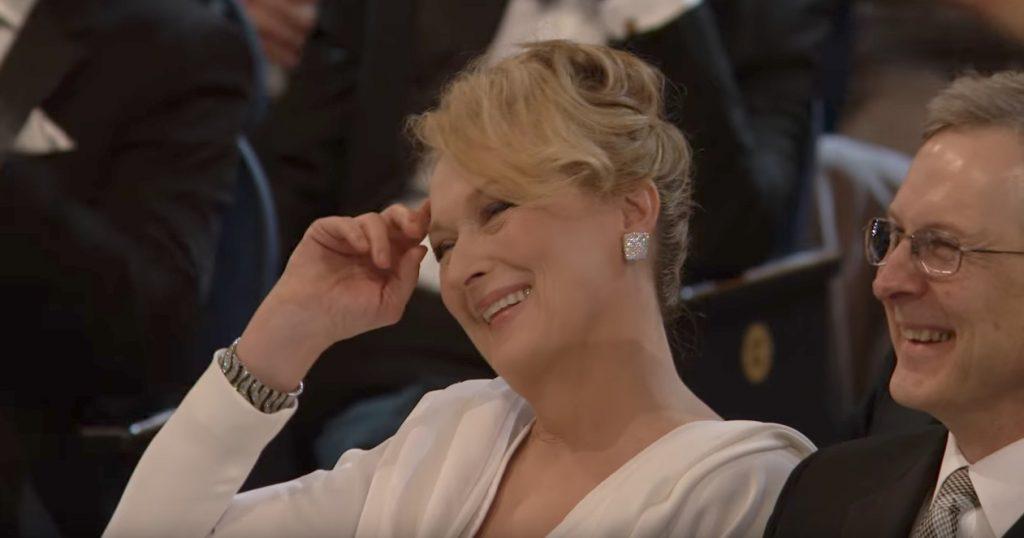 Steve Martin Meryl Streep Oscars Jokes