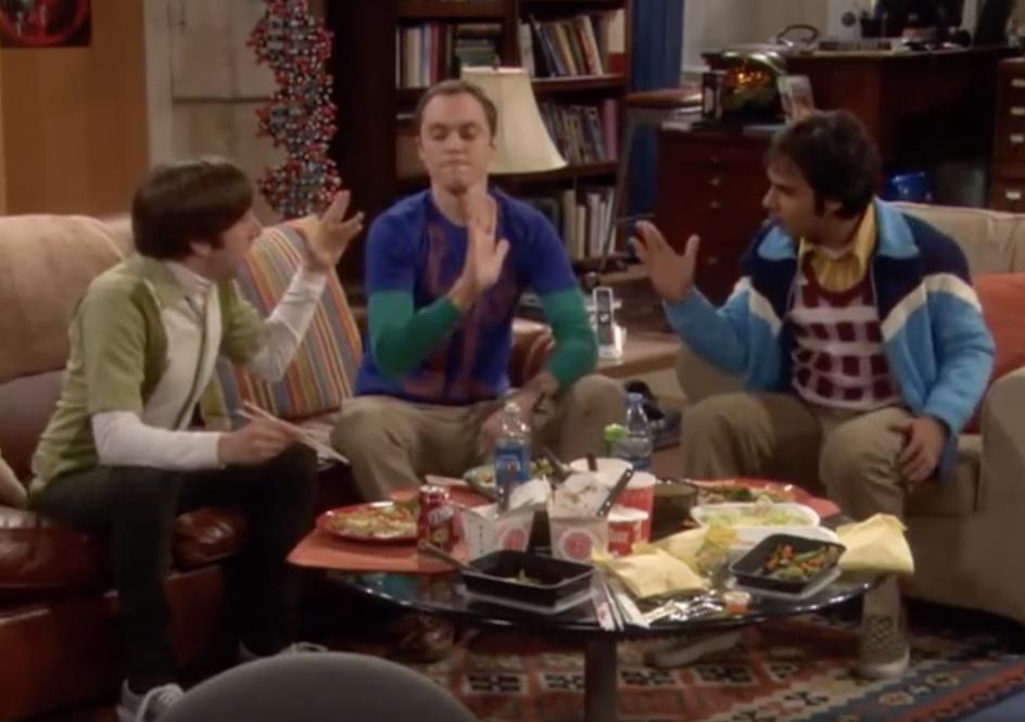 The Big Bang Theory Rock, Paper, Scissors, Spock Funniest Sitcom Jokes