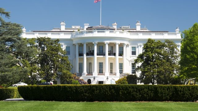 the white house on a crystal clear day, american history questions