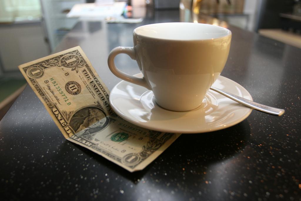 Tipping Waiter