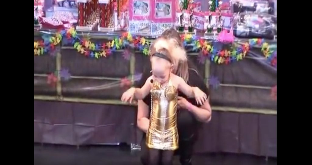 Toddlers and Tiaras Cone Bra Reality Show