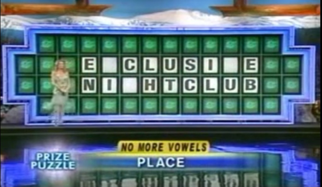 Wheel of Fortune Exclusive Nightclub funny gameshow moments