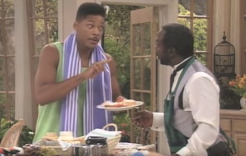 The Fresh Prince of Bel-Air Will Smith Philly sandwich Funniest Sitcom Jokes