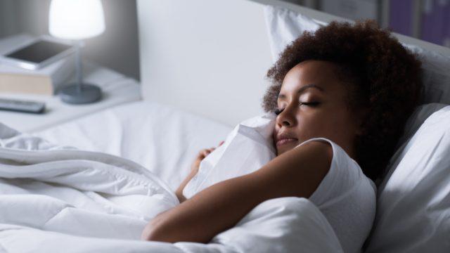 Woman Sleeping health tweaks over 40