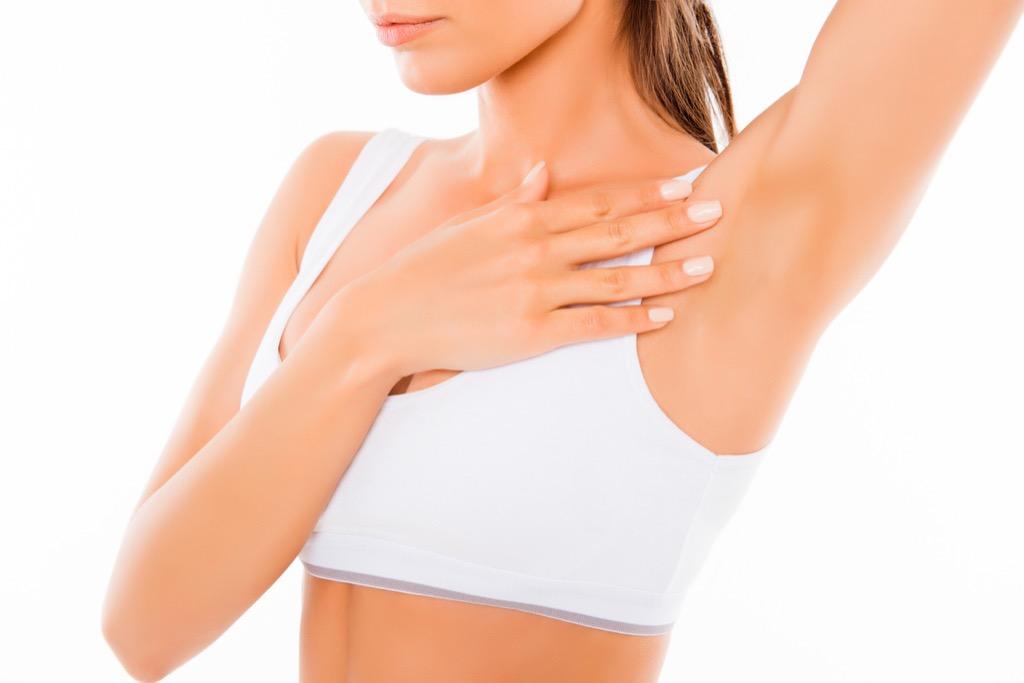 Armpit lump, subtle symptoms of serious disease