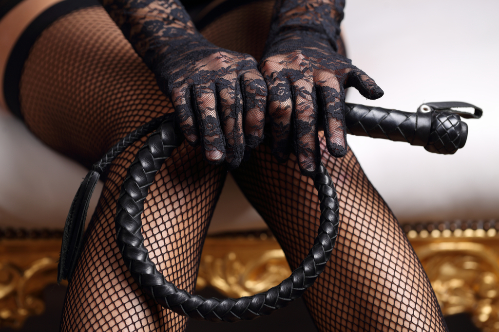 Woman with Whip BDSM