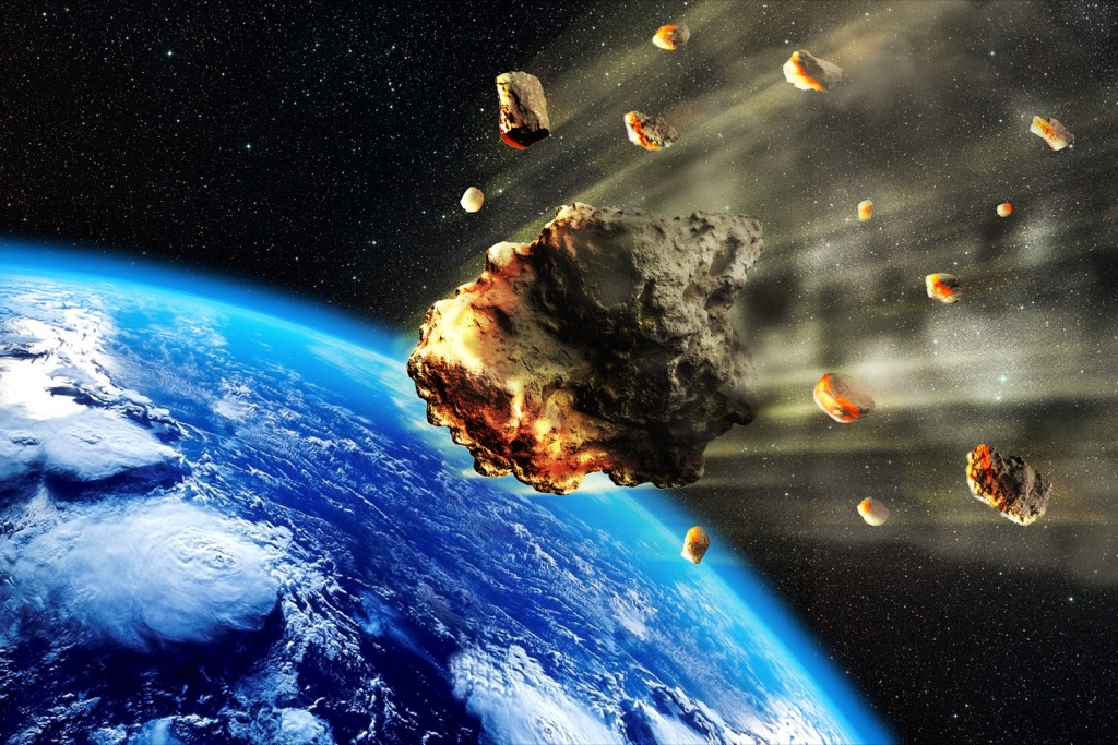 asteroid hitting earth in the future