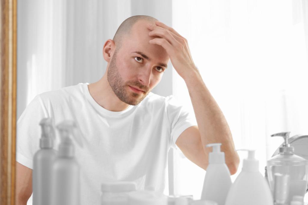 balding man relationship ending warning signs