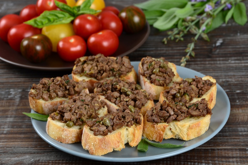 chopped liver heart healthy diet