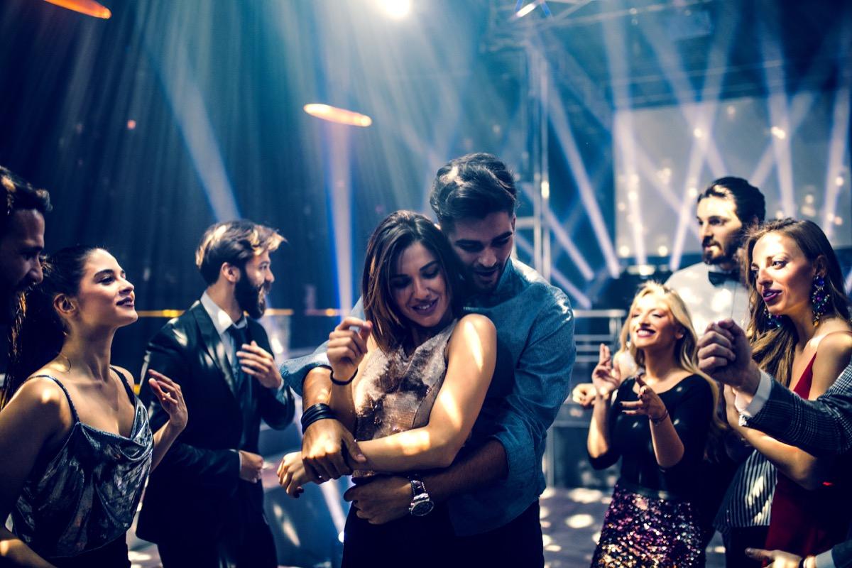 Couple Dancing at a Nightclub Slang Terms