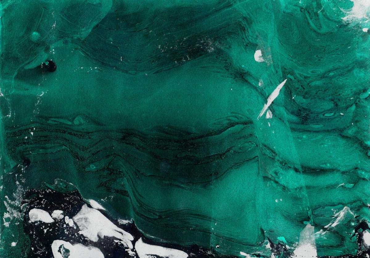 emerald iceberg