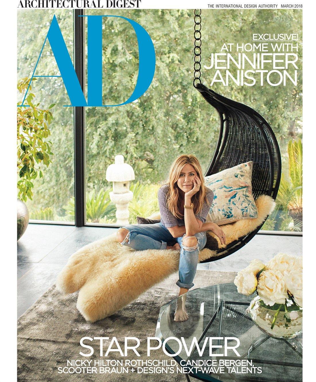 Jennifer Aniston Architectual Digest Photos