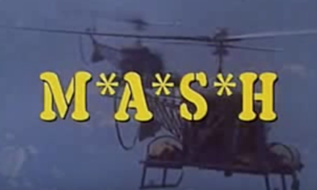 M*A*S*H opening credits shot