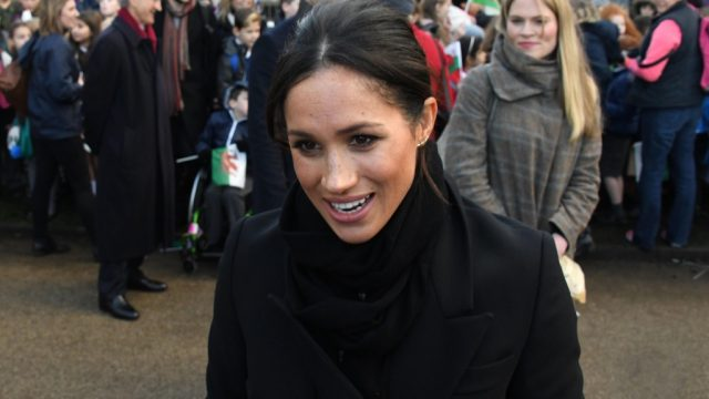 Meghan Markle and Amy Pickerill