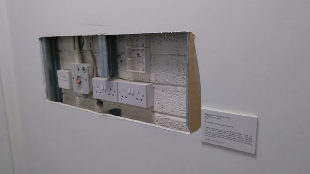 malboury jones turns office wall into art