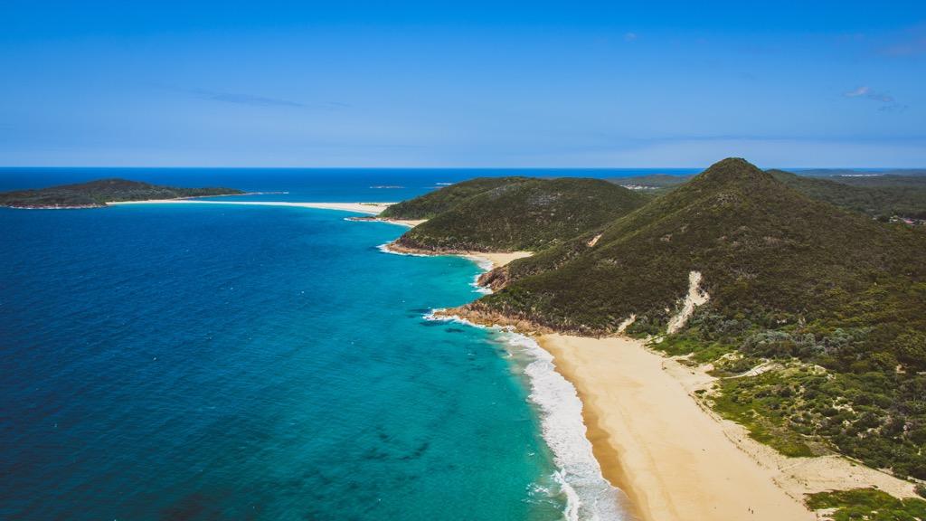 nude beaches australia