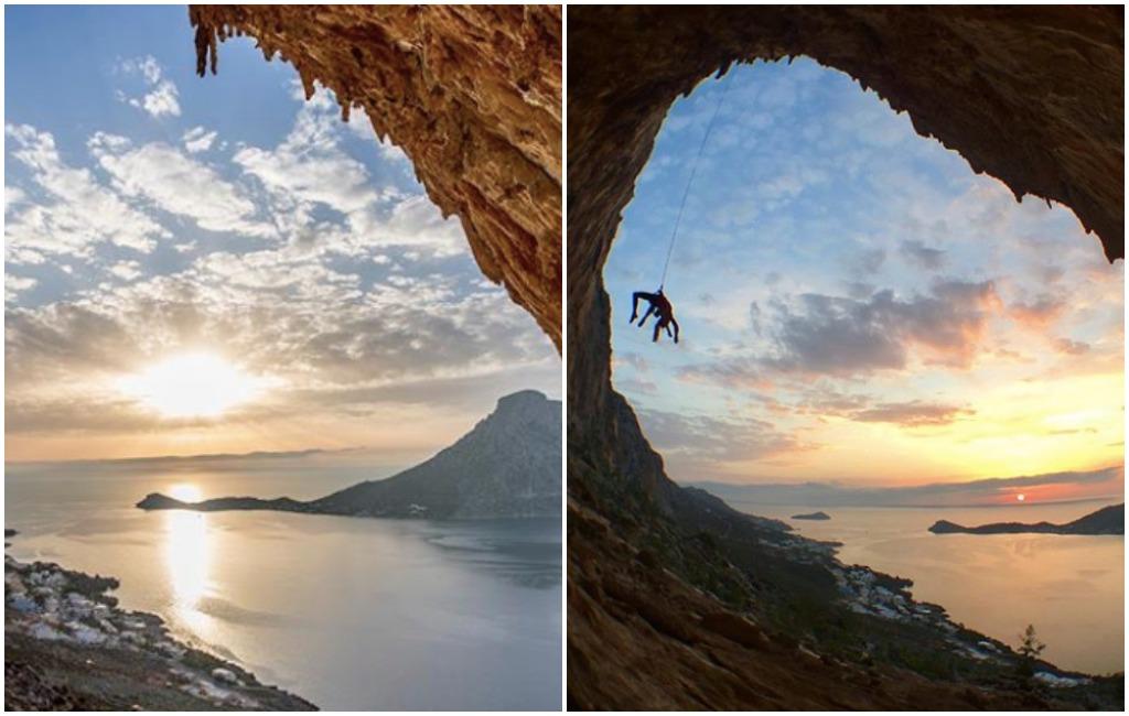 rock climbing retreat in greece
