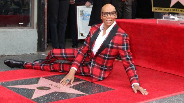 rupaul red carpet