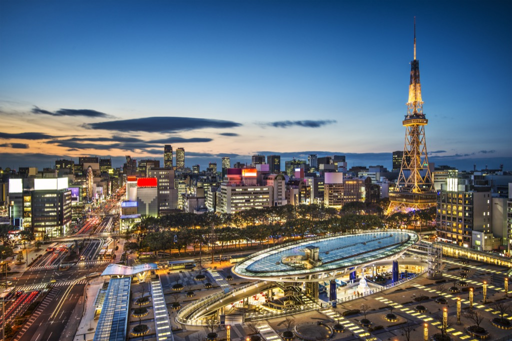 Nagoya, Japan Cleanest Cities in the world