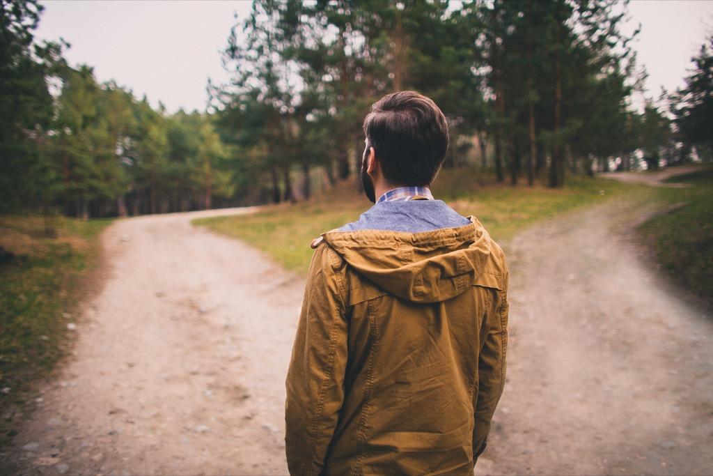 man chooses path be a better partner