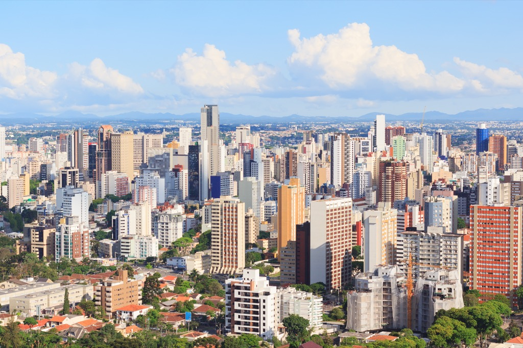 Curitiba, Brazil Cleanest Cities in the world