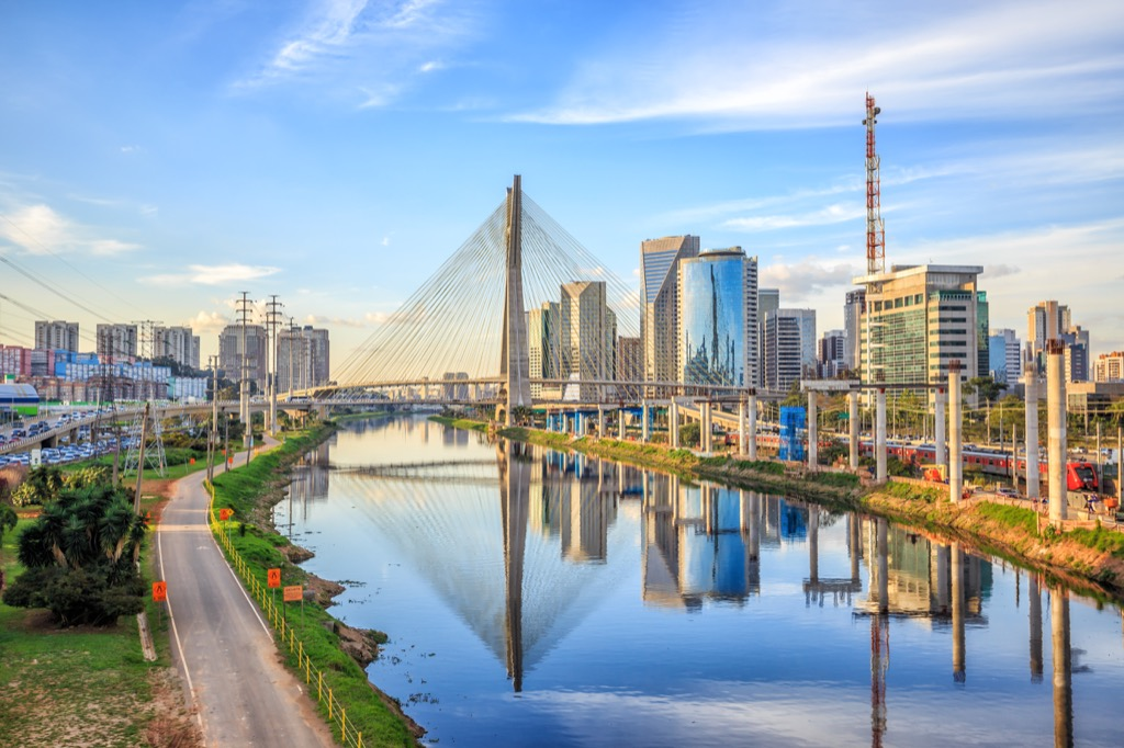 São Paulo, Brazil Cleanest Cities in the world