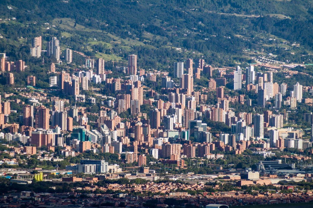 Medellin, Colombia Cleanest Cities in the world