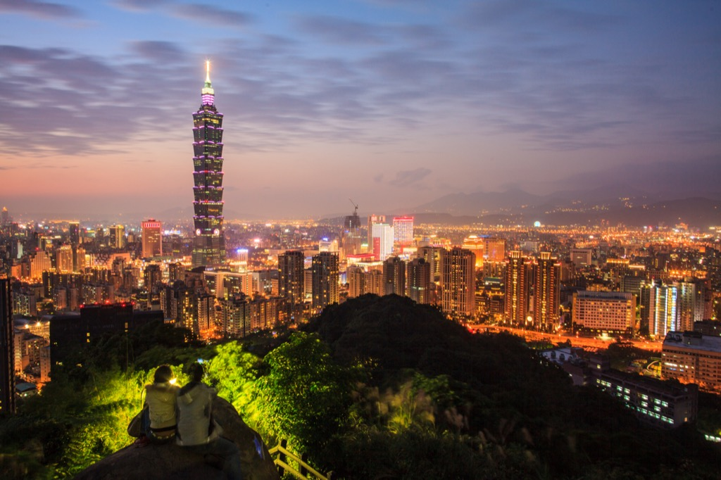 New Taipei City, Taiwan Cleanest Cities in the world
