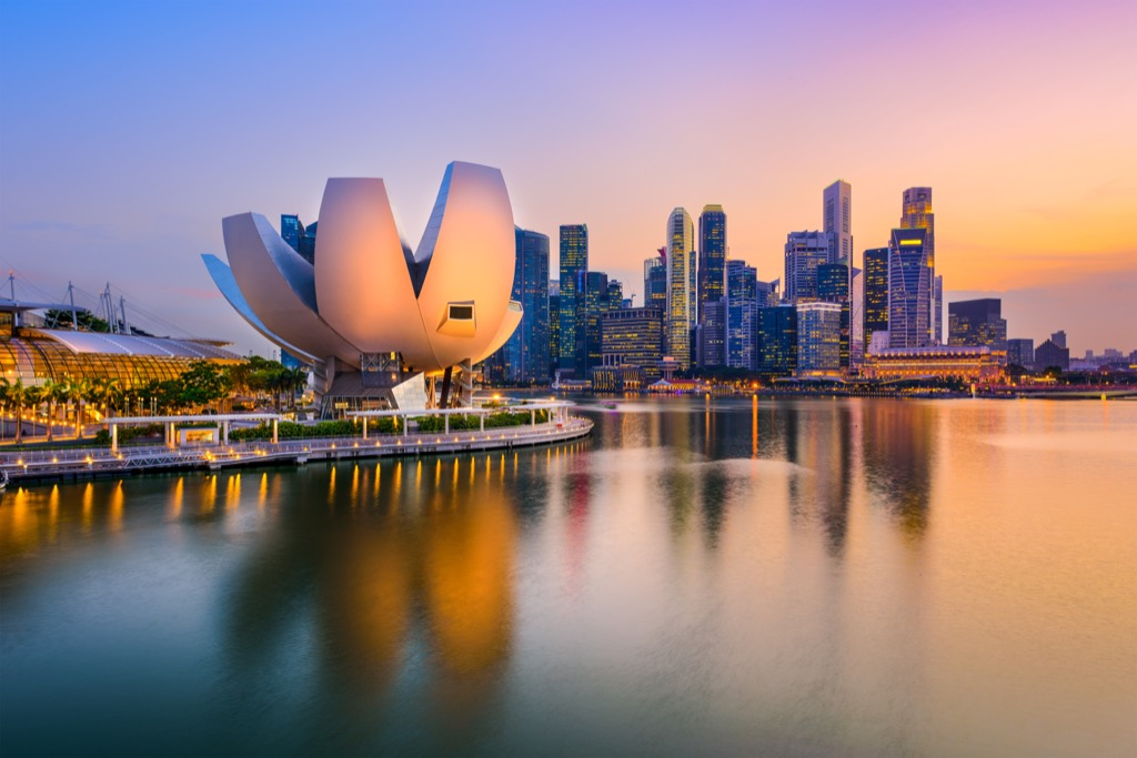 Singapore Cleanest Cities in the world