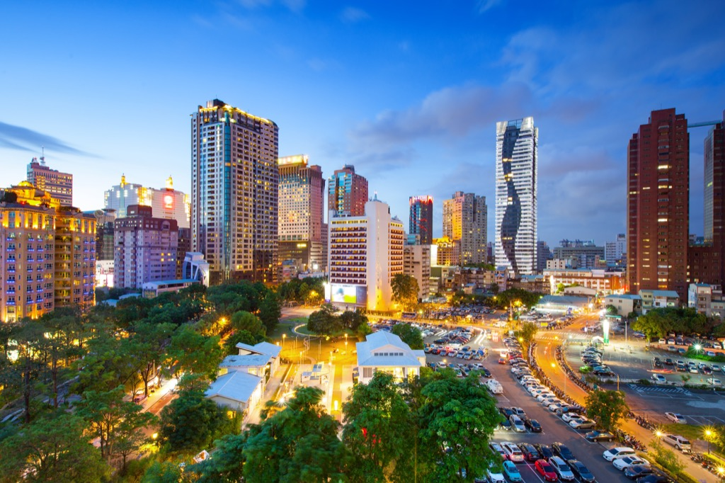 Taichung, Taiwan Cleanest Cities