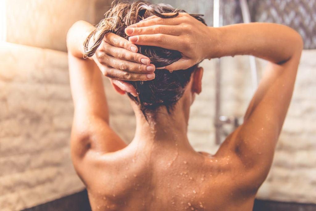 Home Woman in Shower
