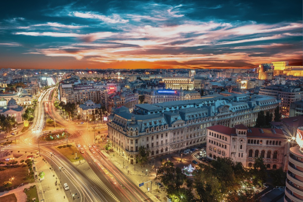 Bucharest, Romania Cleanest Cities in the world