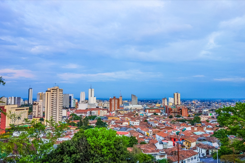 Cali, Colombia Cleanest Cities in the world