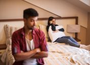 man and woman fighting, things you should never say to your spouse