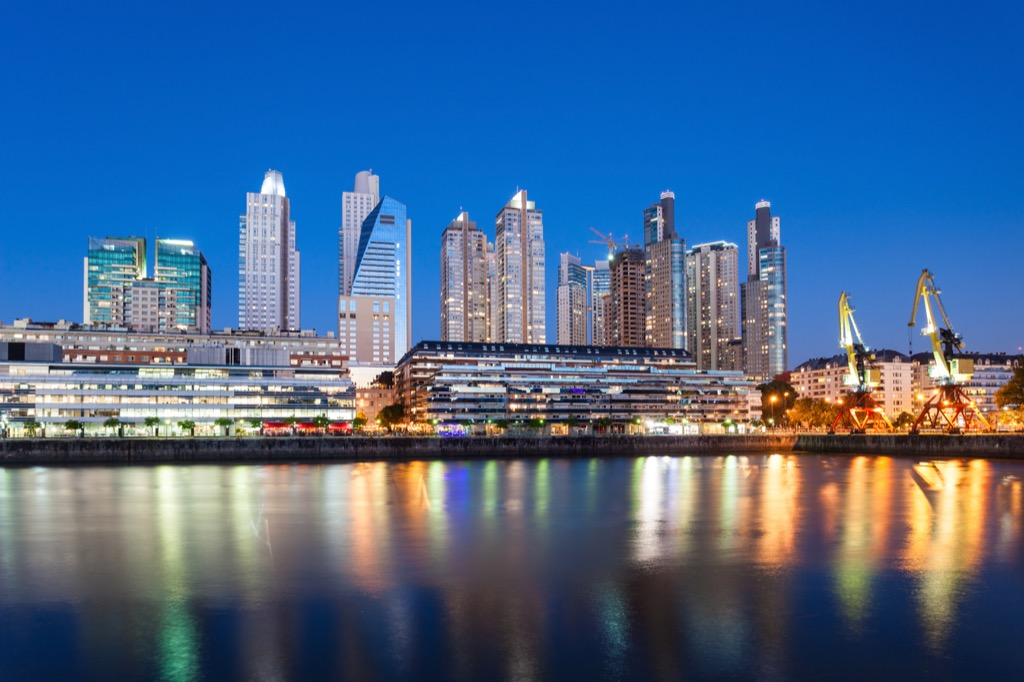 Buenos Aires, Argentina Cleanest Cities in the world