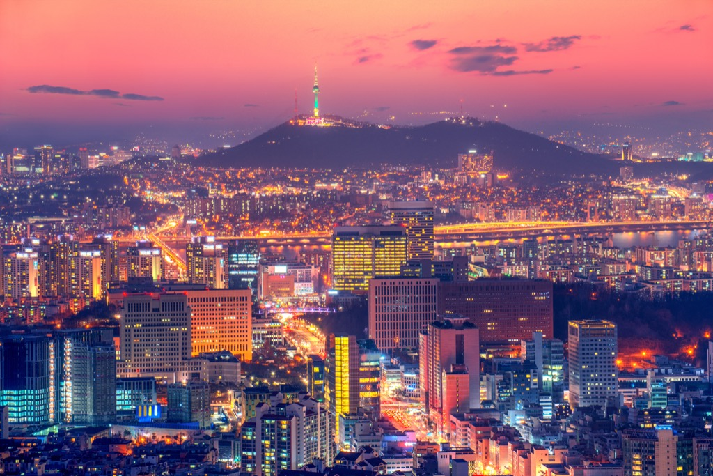 Seoul Cleanest Cities in the world