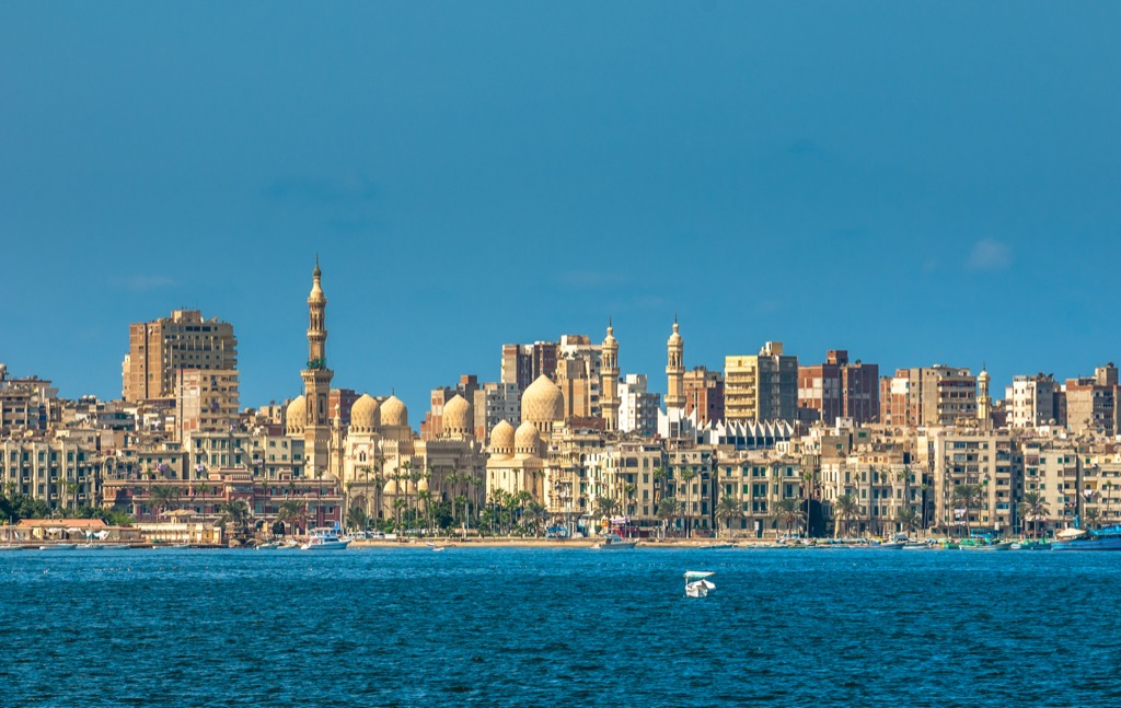 Alexandria, Egypt Cleanest Cities in the world