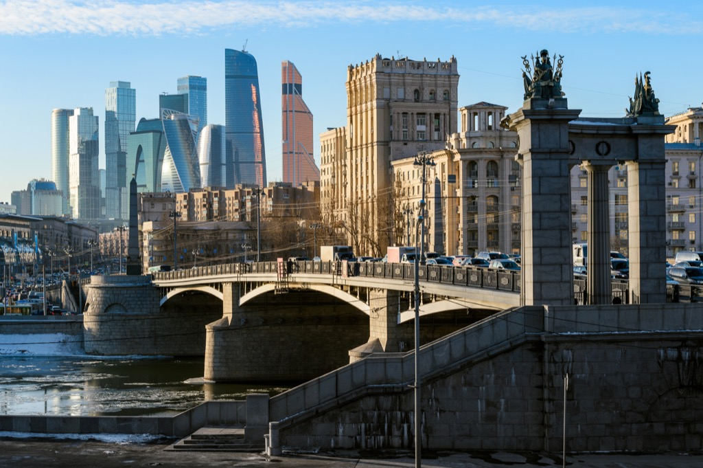 Moscow, Russia Cleanest Cities in the world