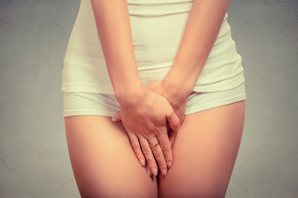 embarrassed and uncomfortable woman , Women's Health Myths