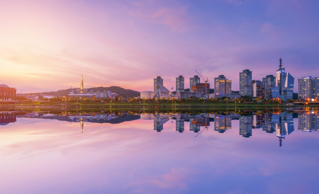 Daejeon, South Korea Cleanest Cities in the world