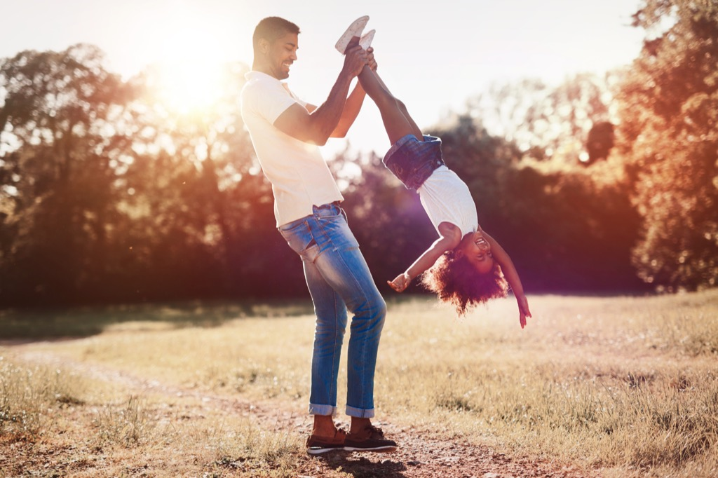 father and daughter Being Single in your thirties 30 and single