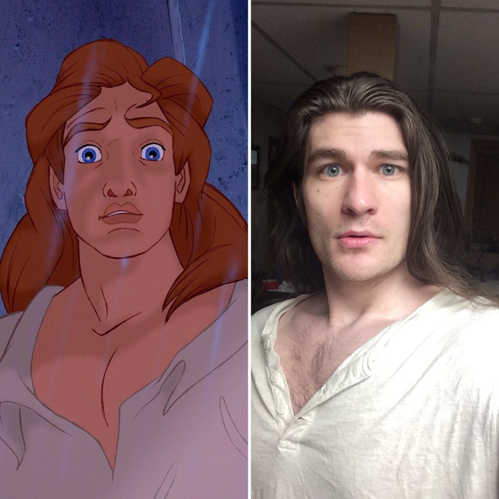 Jeffrey Kendall IRL Disney Prince amazing transformation