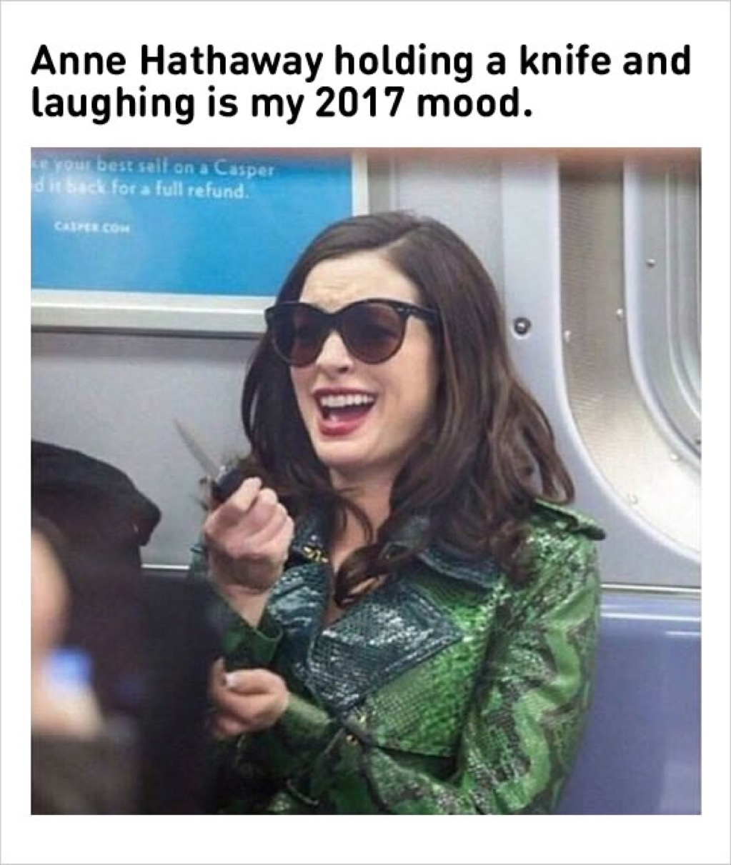 Anne Hathaway knife meme