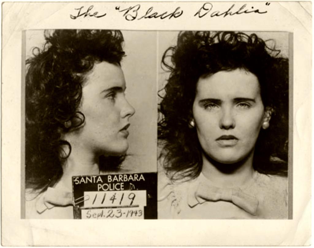 Black Dahlia Elizabeth Short Mugshot History's Greatest Mysteries