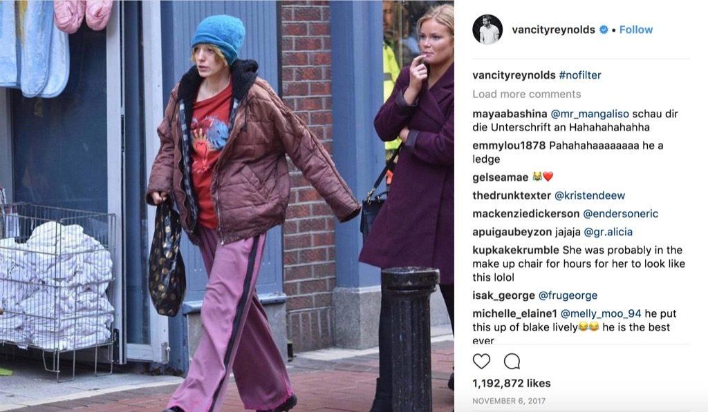 Blake Lively Ryan Reynolds funniest celebrity photos