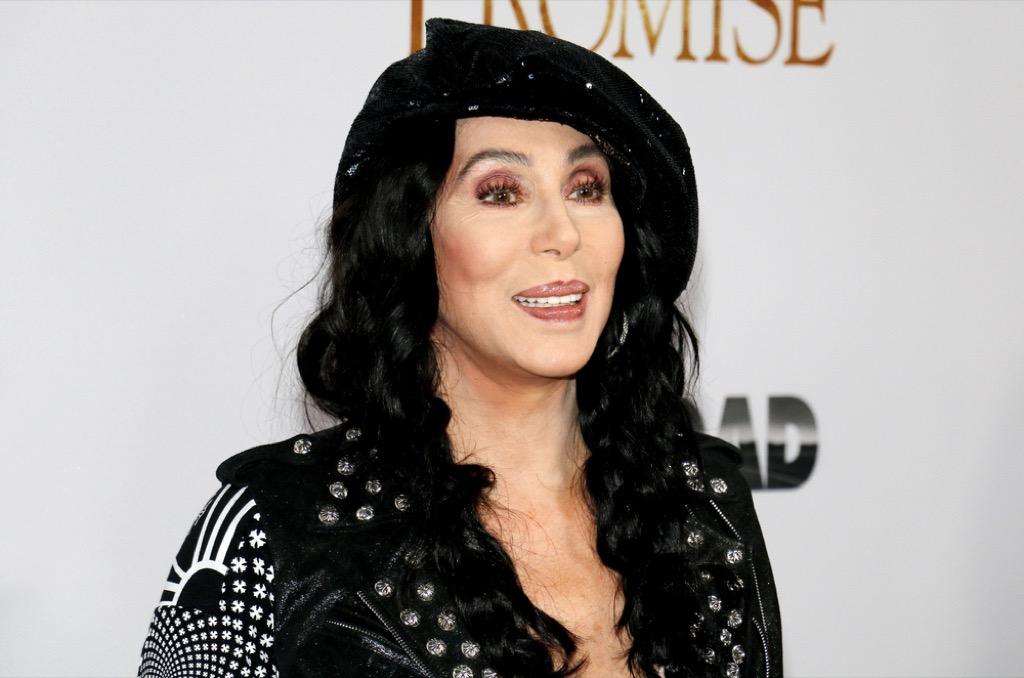 Cher celebrity rider